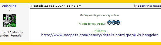 Beauty contest prizes neopets layouts