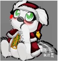 Vandagyre Adoptable - Christmas Clothed by Exhaltorio