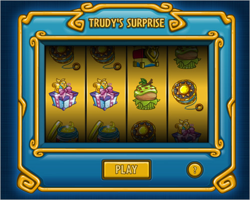 Trudy's Surprise Slot Machine